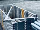 Schutznetzstütze aus Aluminium