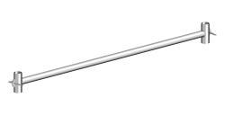 Basisrohr 1,80 m für Zifa Fahrgerüst