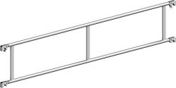 Doppelrückenlehne 2,85 m aus Aluminium