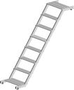 Podest Treppe 1,80 m