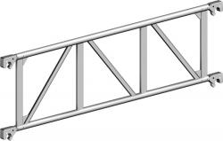 Träger 1,80 m aus Aluminium