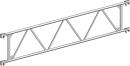 Träger 2,85 m aus Aluminium