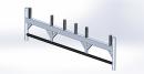 Alu-Rahmenfahrbalken 2,50 m