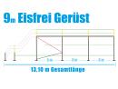 Eisfrei Gerüst Länge 9,21 m