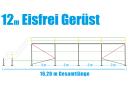 Eisfrei Gerüst Länge 12,28 m