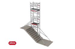 MiTower Treppenhaus Gerüst