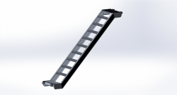 Alu Treppe Fahrgerüst H 1,50 / 2,50 m