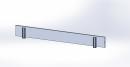 Alu-Stirnbordbrett für Doppelaufbau