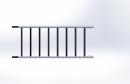 Vertikalrahmen breit 0,85 m