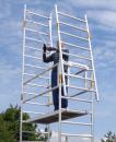 Albert Fahrgerüst mit Sicherheitsaufbau
